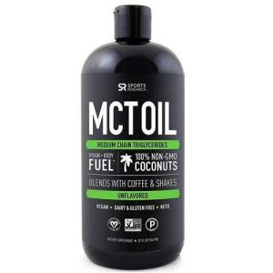 Premium MCTオイル 100%ココナッツオーガニック油 946ml
