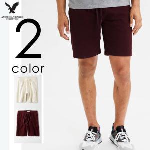 アメリカンイーグル メンズ フリース ジョガーパンツ ショートパンツ|us-style