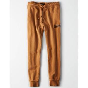 アメリカンイーグル メンズ ジョガーパンツ タン M-tallサイズ AE Graphic Jogger Pant(1229-4098)|us-style