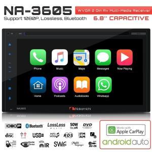 Apple CarPlayとAndroid Autoで動作することが可能のNAKAMICHI(ナカミ...