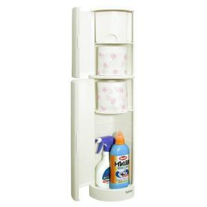 トイレ収納ケース スリム トイレ隙間収納 トイレットペーパー入れ|usagi-shop