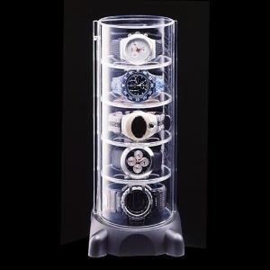 【リレー最終日!最大ポイント10倍】 腕時計 コレクションケース タワー ウォッチケース 腕時計収納 腕時計ケース|usagi-shop