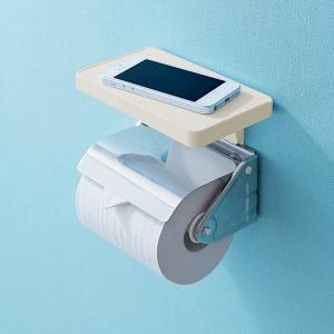 トイレ 小物置き 棚 トイレットペーパーホルダー設置|usagi-shop