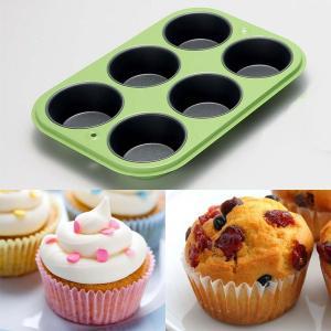 マフィンパン型 カップケーキ型 スチール製 製菓道具 お菓子作り セルクル ケーキ型|usagi-shop