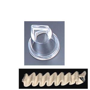 絞り口 絞り出し袋用 リボン型 製菓道具 お菓子作り デコレーションツール|usagi-shop