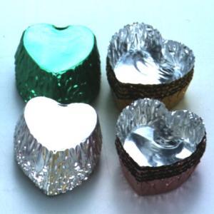 チョコカップ チョコレート型 ハート 5色 20枚入 製菓道具 お菓子作り チョコレート型|usagi-shop