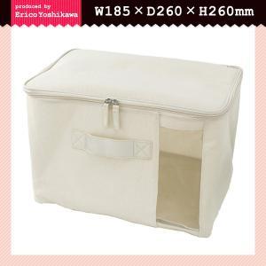 収納ケース フタ付き 布 衣類 収納袋 ファスナー 押入れ収納ケース usagi-shop
