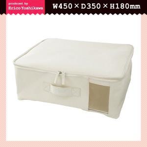 ファブリック収納ボックス 中が見える 小窓付き ふた付き 衣類収納ケース usagi-shop