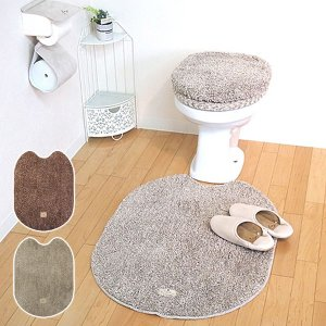 トイレマット 大きいサイズ ロング 足元マット 北欧 おしゃれ ふかふか|usagi-shop