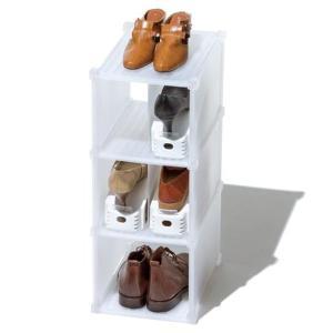 シューズラック プラスチック 玄関収納 靴箱|usagi-shop