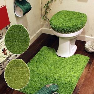 トイレのフタカバー トイレカバー 普通便座用蓋カバー|usagi-shop