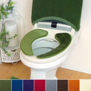 吸着便座シート トイレ便座シート トイレ便座カバー 無地 北欧 ナチュラル|usagi-shop