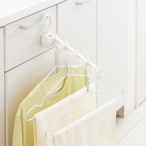 室内干しハンガー 部屋干し用ハンガー ホテル 旅行先 梅雨対策 花粉対策|usagi-shop