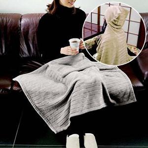 ブランケット 温かい ひざ掛け 毛布 肩掛け かわいい フード 北欧 膝掛け 膝掛 ひざかけ クッション|usagi-shop