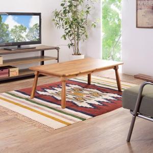 こたつテーブル 北欧 おしゃれ 一人用 長方形 ヒーター テーブル|usagi-shop