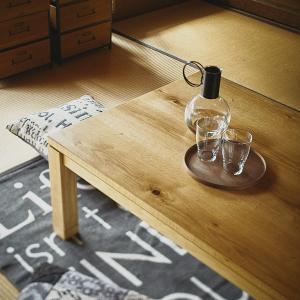 こたつ テーブル 重厚感 北欧 おしゃれ ローテーブル リビング 石英管 600W usagi-shop