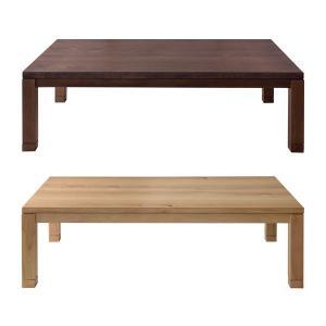 こたつ テーブル 北欧 天然木製 おしゃれ ローテーブル リビング センターテーブル 石英管 600W usagi-shop