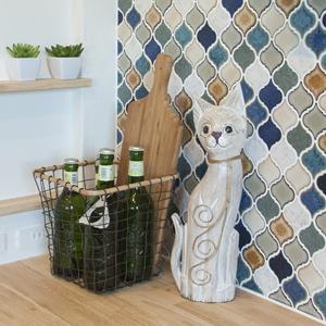 ネコ 置き物 猫 ねこ オーナメント 置き物 木製 オブジェ 飾り 天然木 玄関 トイレ リビング キッチン ガーデニング 園芸 おしゃれ インテリア|usagi-shop