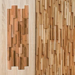 ウォールタイル 壁 DIY リフォーム アレンジ 木目 木製 北欧|usagi-shop