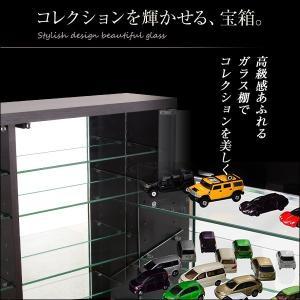 鏡 コレクションラック専用 背面 ミラー 2枚セット|usagi-shop