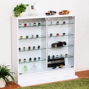 コレクションラック ロータイプ 収納棚 低い フィギュアケース|usagi-shop