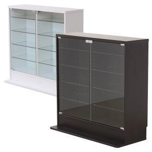 ショーケース ガラス フィギュア 飾り棚 扉付き|usagi-shop