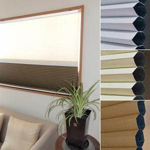 ハニカムシェード 88×180 遮光一級 採光 目隠し 断熱 ツイン 2通り|usagi-shop