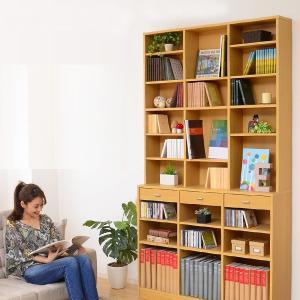 壁面収納 大容量 本棚 コミック収納 大きいサイズ|usagi-shop