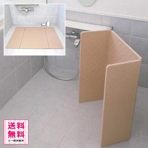 すのこ 浴室内 バスマット すのこマット 浴室マット カビない 折りたたみ お風呂場 浴室用床シート|usagi-shop