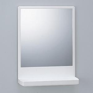 鏡 洗面所 浴室内 お風呂場 ミラー 棚付き ラック バスルーム|usagi-shop