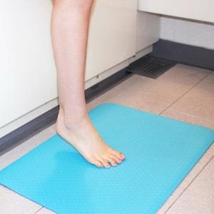 浴室マット 浴室内 バスマット カビない 洗い場マット お風呂場 薄い 薄型|usagi-shop