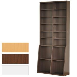 本棚 大きいサイズ ブックシェルフ 大容量 大型 薄い|usagi-shop