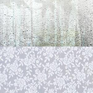 結露防止 窓用 ガラス 結露防止シート 結露防止対策 貼る 冬 オールシーズン おしゃれ ガラスフィルム 柄|usagi-shop