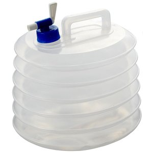 10リットルの雨水や河川の水を貯水でき、手洗いや洗い物に使える、緊急用ポリタンクです。 使用しないと...