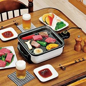 グリルプレート 小型 グリル 鉄板 焼肉 バーベキュー 卓上サイズ プレート 油 脂 落ちる usagi-shop