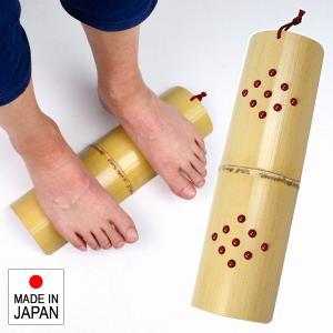青竹踏み イボイボ 効果 足裏マッサージ ボール付き 足裏 マッサージ 竹製 痛い 日本製 国産|usagi-shop
