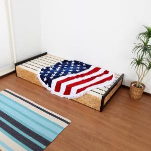 スノコベッド ベット フレーム 西海岸 おしゃれ シンプル シングルサイズ|usagi-shop