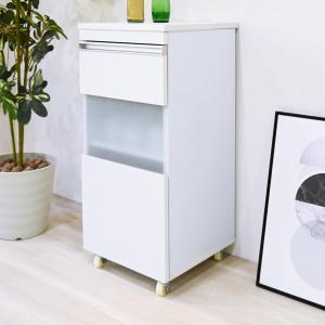 キッチン収納 ワゴン キャビネット キャスター付き 引き出し 可動棚|usagi-shop