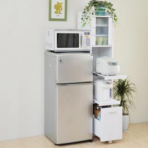 スリム食器棚 小さい 低い 小さい食器棚 かわいい食器棚 コンパクト 低い食器棚 小型 キッチンラック スリム すきま 隙間収納|usagi-shop