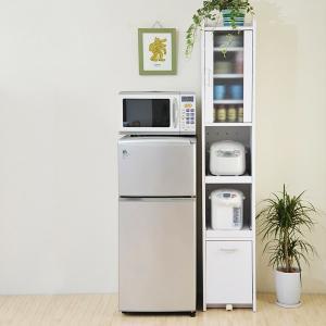 すきま収納 隙間収納 すき間収納 小さい 食器棚 スリム食器棚 すき間食器棚 隙間食器棚 コンパクト キッチンラック スリム|usagi-shop
