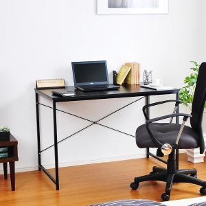 パソコンデスク スチールデスク シンプル 金属 pcテーブル|usagi-shop