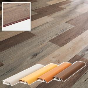 見切り材 見切り 端 隅 床見切り 床材 フロアタイル フロアータイル 床タイル ウッドタイル 木目タイル フローリング diy リフォーム 塩ビ 段差見切り|usagi-shop