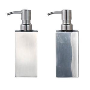 ソープディスペンサー 泡タイプ ボトル 詰め替え ステンレス おしゃれ スタイリッシュ メンズ ボディソープ ハンドソープ usagi-shop