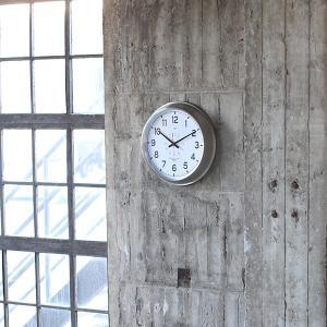 掛け時計 オシャレ おしゃれ シンプル アナログ 無骨 インテリア スタイリッシュ インダストリアル ウォールクロック usagi-shop