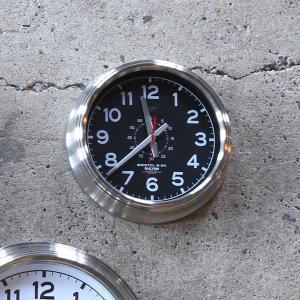 掛け時計 かっこいい 文字盤 黒 白 おしゃれ シンプル アナログ 無骨 インテリア スタイリッシュ オシャレ usagi-shop