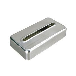 ティッシュボックスケース ティッシュケース スチール おしゃれ レトロ かっこいい アルミ アメリカン|usagi-shop
