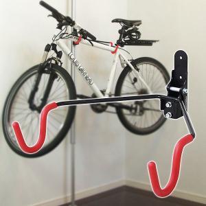 重量級にも動じない!自転車やスノーボードなどを飾れるラフィット専用ホビーハンガーです。  天井と床に...
