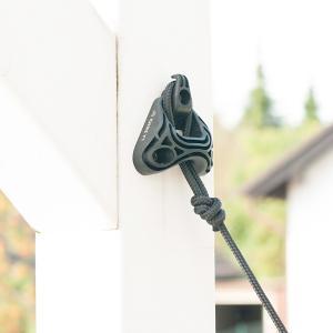 木造住宅はもちろん、鉄筋コンクリート住宅にも取り付け可能なハンモック用取り付け器具です。 柱や壁面取...