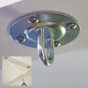ハンモック取付金具セット 天井 梁 壁 柱 部品 ネジ 吊下げ 道具 室内 送料無料|usagi-shop