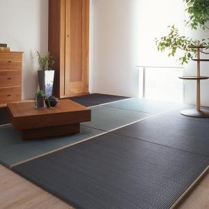 ユニット畳 フローリング 置き畳 リビング たたみ タタミスト tatamist 45cm 正方形 白秋染め|usagi-shop